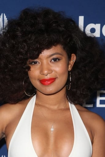 Jaz Sinclair alias Angela