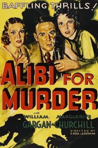 Poster of Alibi for Murder
