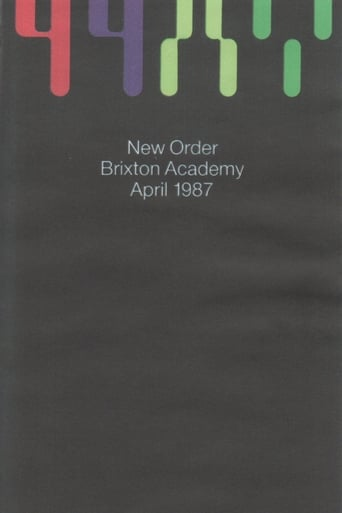 Poster of New Order: Brixton Academy