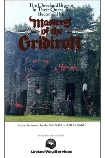 Poster of Masters Of The Gridiron