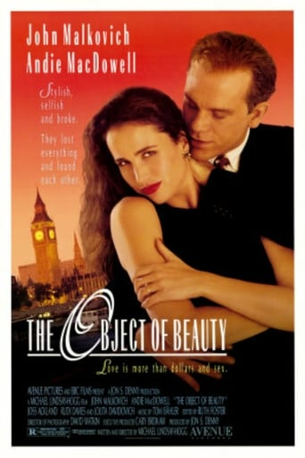 Poster of The Object of Beauty