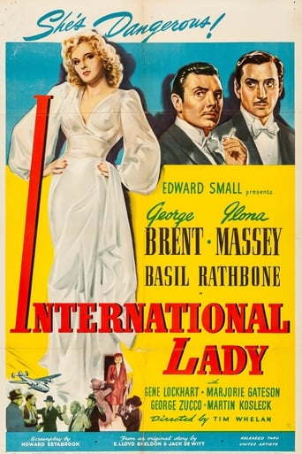 Poster of International Lady
