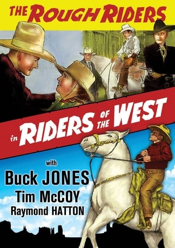 Poster of Riders of the West