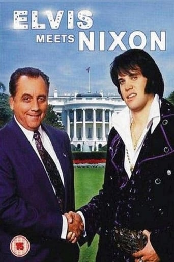 Poster of Elvis Meets Nixon