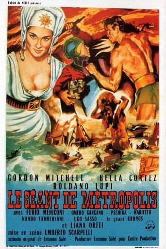 Poster of The Giant of Metropolis