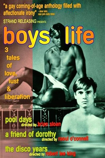 Poster of Boys Life: Three Stories of Love, Lust, and Liberation