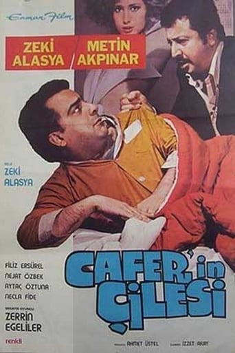 Poster of Cafer'in Çilesi