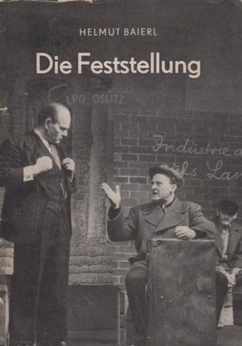 Poster of Die Feststellung