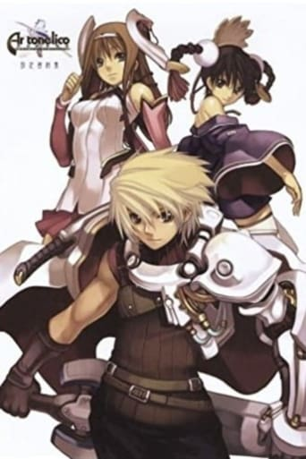 Poster of Ar Tonelico: The Girl Who Sings at the End of the World