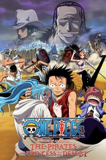 Poster of One Piece : Épisode d'Alabasta : La Princesse du désert et les pirates
