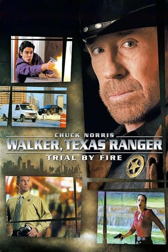 Poster of Walker, Texas Ranger: Trial by Fire