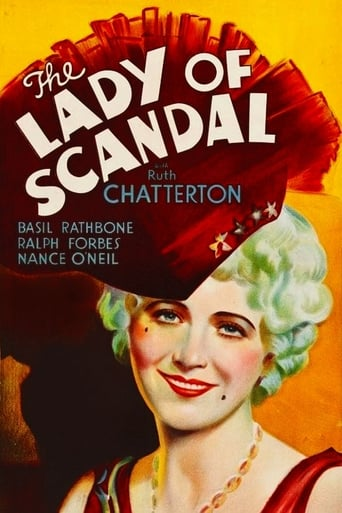 Poster of The Lady of Scandal