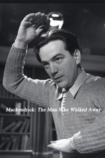 Poster of Mackendrick: The Man Who Walked Away