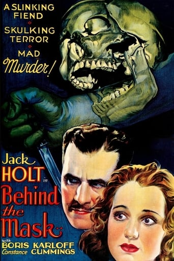 Poster of Behind the Mask