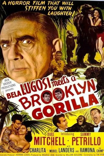 Poster of Bela Lugosi Meets a Brooklyn Gorilla
