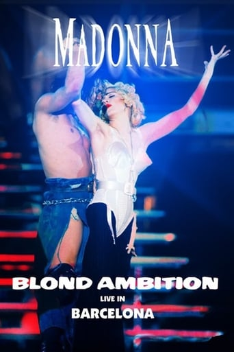 Poster of Madonna Blond Ambition World Tour 90 from Barcelona