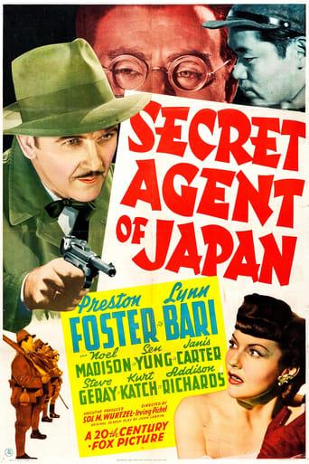Poster of Secret Agent of Japan