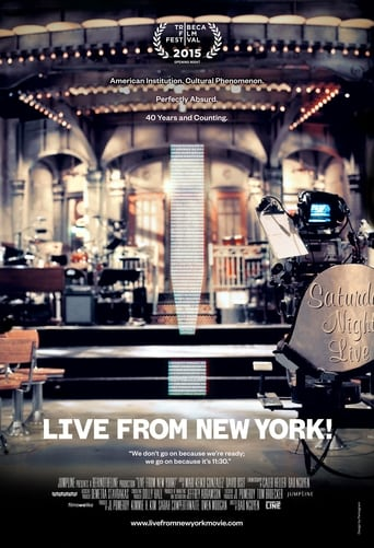 Poster of Live from New York!