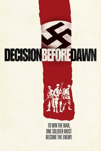 Watch Decision Before Dawn 1951 full online free