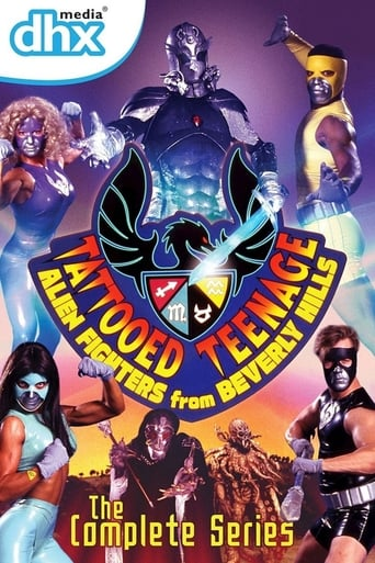 Poster of Tattooed Teenage Alien Fighters from Beverly Hills
