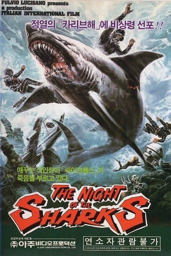 Poster of The Night of the Sharks
