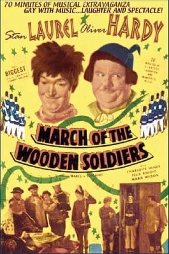 March of the Wooden Soldiers (1934) - poster