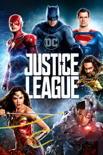 Official movie poster for Justice League (2017)