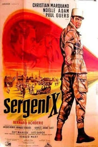 Poster of Sergeant X of the Foreign Legion