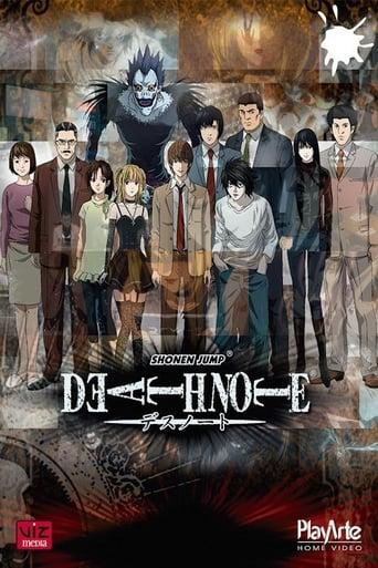 Death Note Notas da Morte 1ª Temporada - Poster
