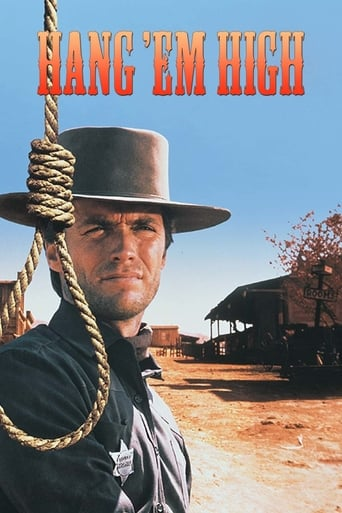 Official movie poster for Hang 'em High (1968)