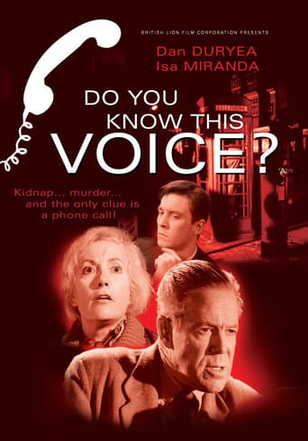 Do You Know This Voice? Movie Poster