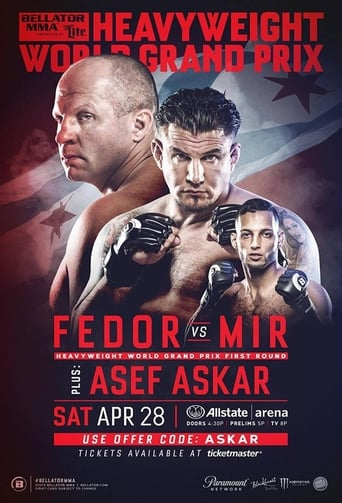 Poster of Bellator 198: Fedor vs. Mir