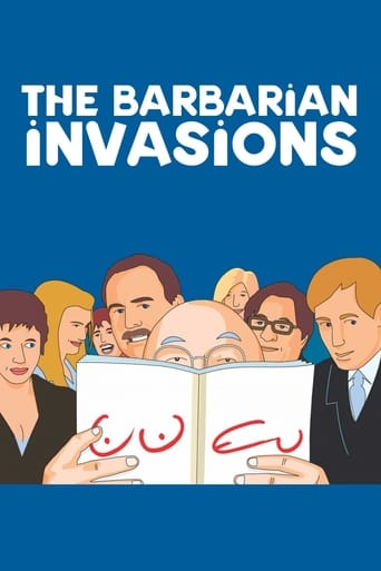 Poster of The Barbarian Invasions