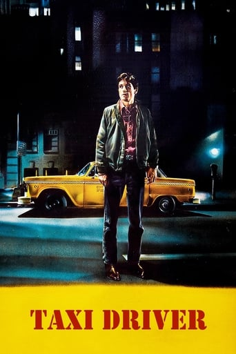 Official movie poster for Taxi Driver (1976)