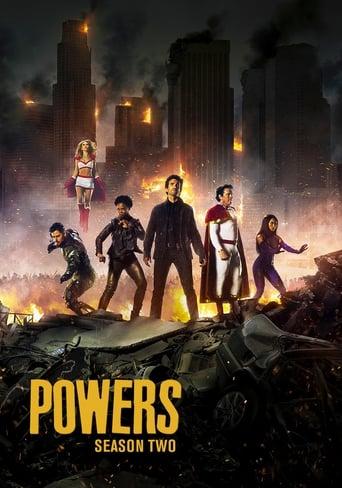 Galingieji / Powers (2016) 2 Sezonas LT SUB