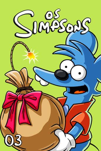 Os Simpsons 3ª Temporada - Poster
