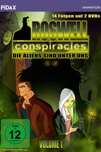 Poster of Roswell Conspiracies: Aliens, Myths and Legends