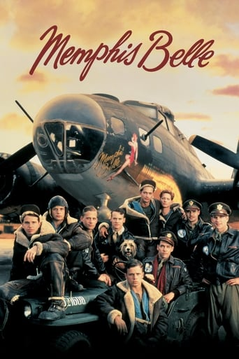Official movie poster for Memphis Belle (1990)