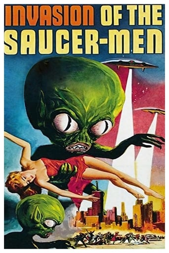 Poster of Invasion of the Saucer-Men