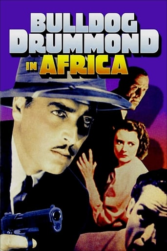 Poster of Bulldog Drummond in Africa