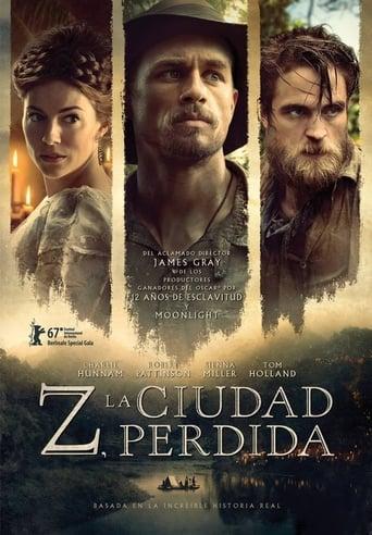 Poster of Z, la ciudad perdida