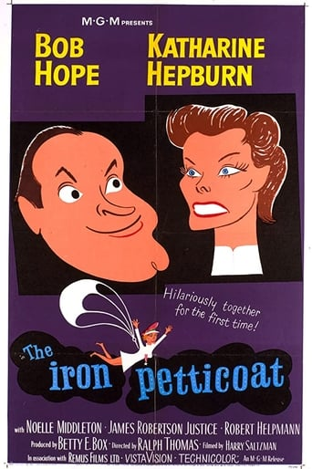 Poster of The Iron Petticoat