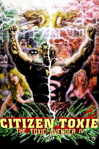 Poster of Citizen Toxie: The Toxic Avenger IV