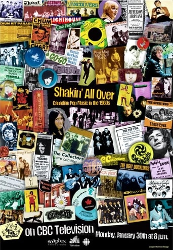 Poster of Shakin All Over: Canadian Pop Music in the 1960s