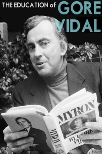 Poster of The Education of Gore Vidal