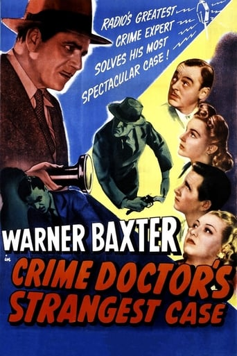 Poster of The Crime Doctor's Strangest Case