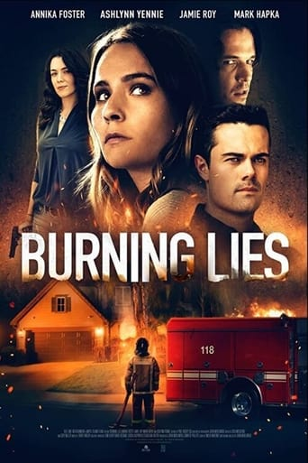 Poster Burning Lies