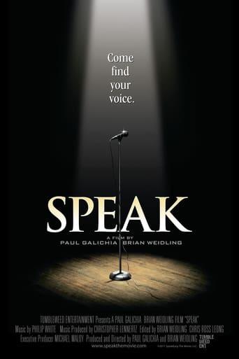 Poster of Speak