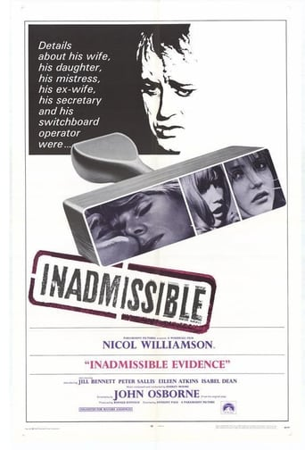 Poster of Inadmissible Evidence