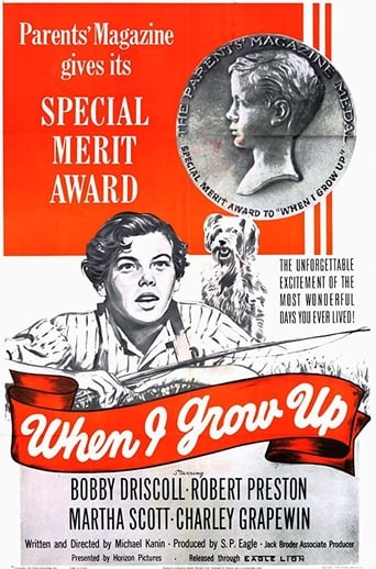 Poster of When I Grow Up